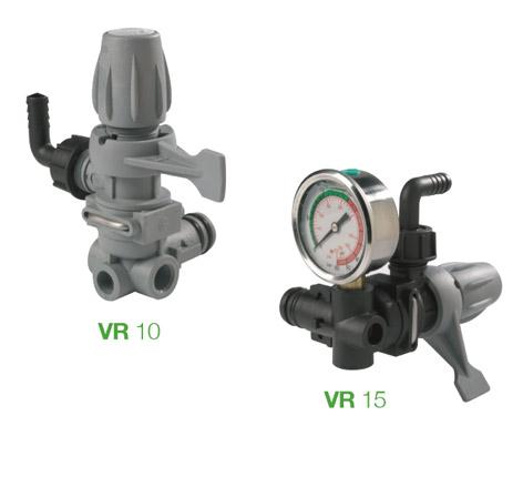 Control Unit VR 10 - VR 15 for Comet Pumps