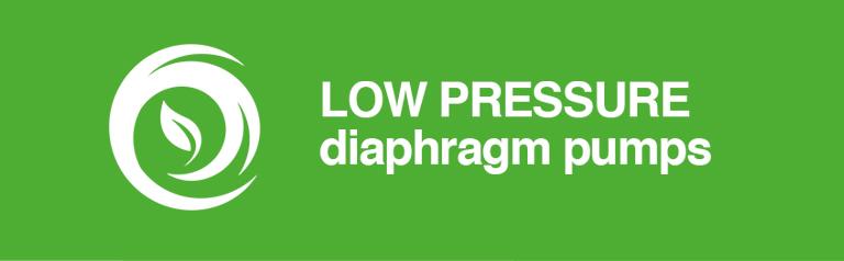 Low Pressure Diaphragm pumps