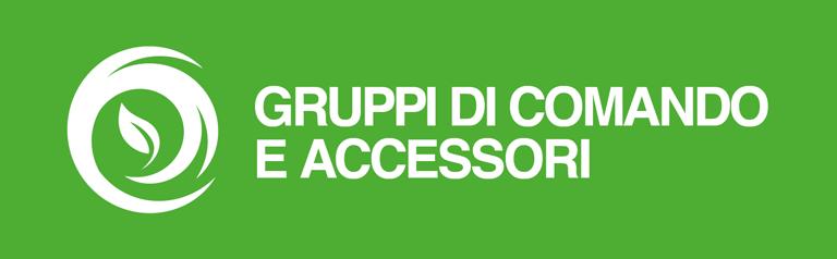 Gruppi comando accessori Agricoltura Comet
