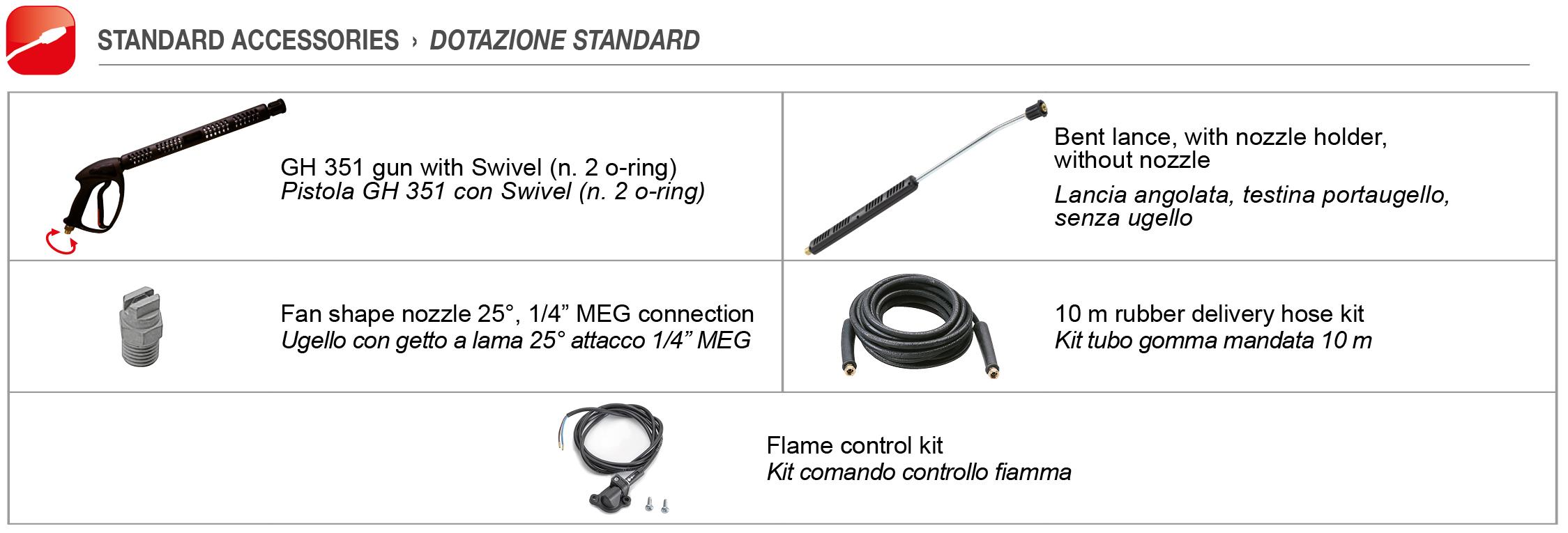 KM Extra - Accessories Comet