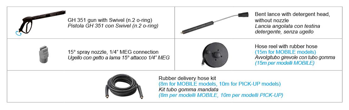 k compact accessories comet