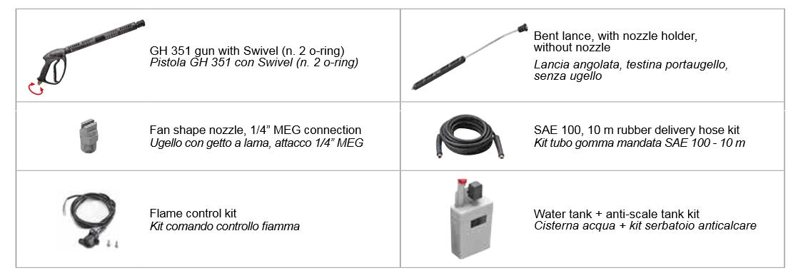 kf steel accessories Comet