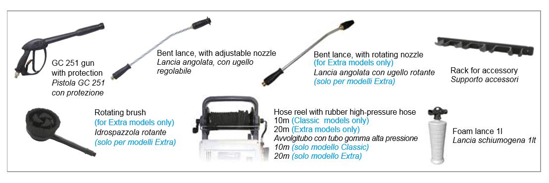 static accessories comet