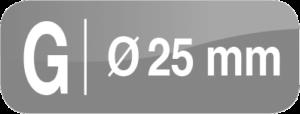 flange 25