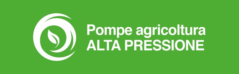 Pompe Agricoltura alta pressione Comet