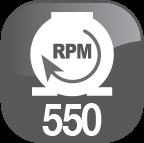rpm 550