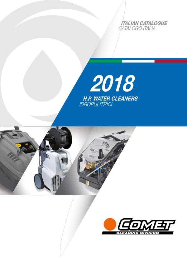 Catalogo generale cleaning Italia Comet