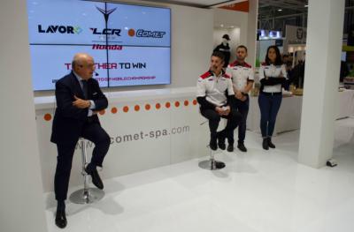 Sponsorship Comet LCR Honda