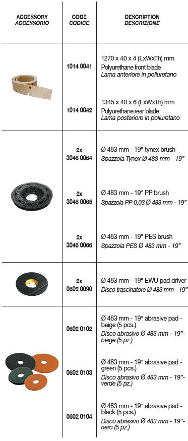 CRS 102 BT Optioanal Accessories 2