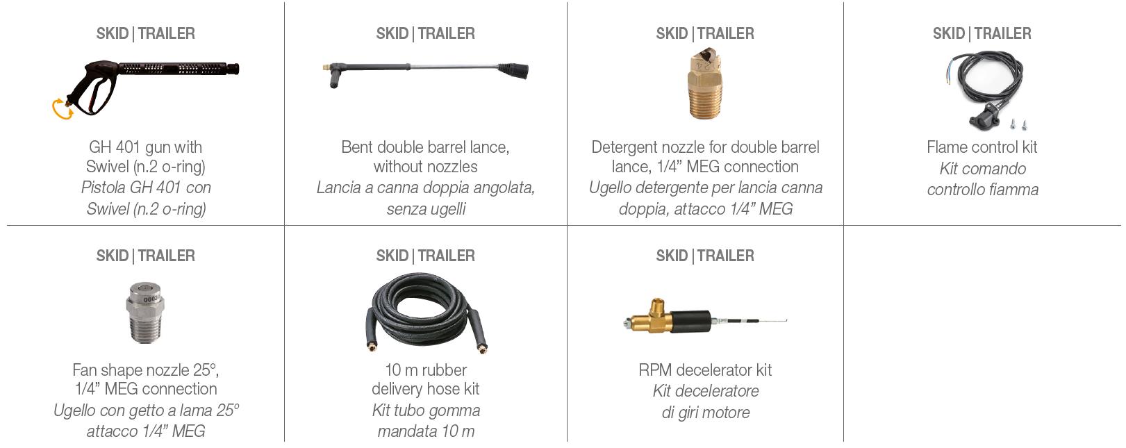 FDX HOT CUBE Standard Accessories